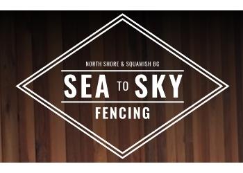 North Vancouver fencing contractor Sea to Sky Fencing
