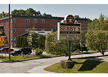 Sherbrooke steak house Sebby's Pub & Grill