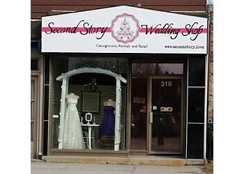 Peterborough bridal shop Second Story Wedding Shop