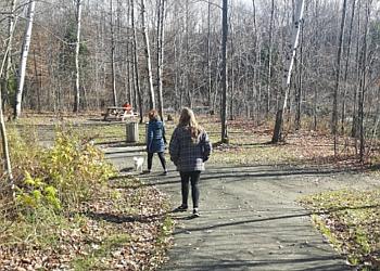 Shawinigan hiking trail Sentier Rivière Shawinigan