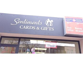 Oakville gift shop Sentiments Cards & Gifts