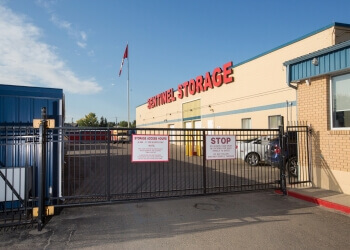 Red Deer storage unit Sentinel Storage