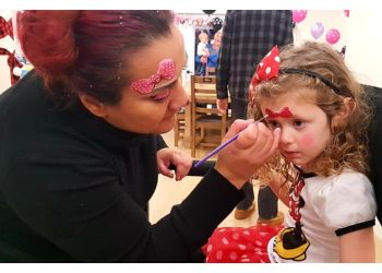 Abbotsford face painting Serena's face painting