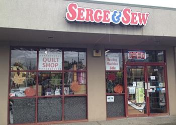Nanaimo sewing machine store Serge and Sew