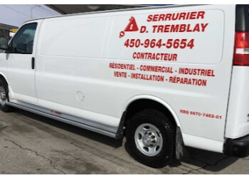 Terrebonne locksmith SERRURIER D TREMBLAY INC.
