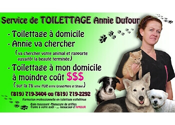 Shawinigan pet grooming Service de Toilettage Annie Dufour