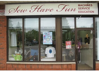 Oshawa sewing machine store Sew Have Fun