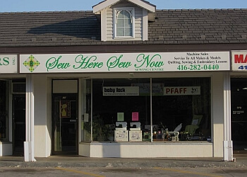 Markham sewing machine store Sew Here Sew Now Sewing Center