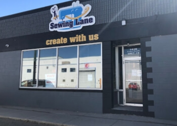 Lethbridge sewing machine store Sewing Lane