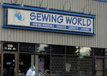 Calgary sewing machine store Sewing World