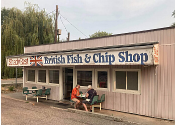 Kelowna fish and chip Shady Rest Fish & Chips