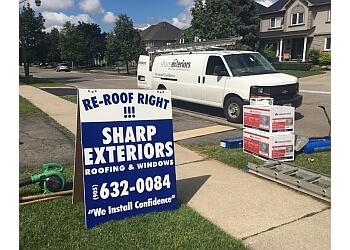 Oakville roofing contractor Sharp Exteriors