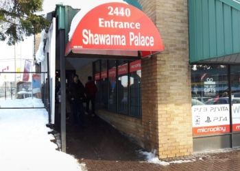 Ottawa mediterranean restaurant Shawarma Palace