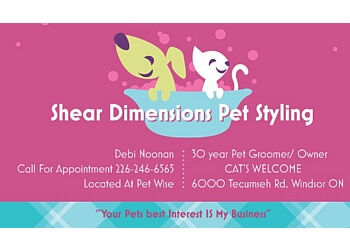 Windsor pet grooming Shear Dimensions Pet styling