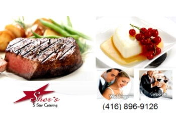 Ajax caterer Sher's 5 Star Catering