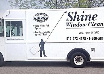 Stratford window cleaner Shine Window Cleaning