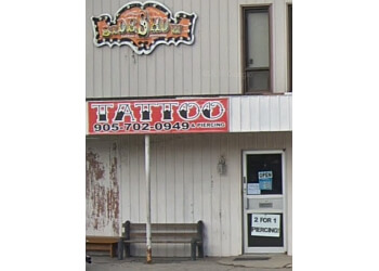 Halton Hills tattoo shop Sideshow Tattoos & Piercing