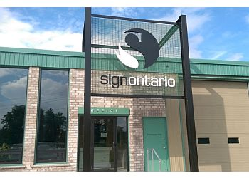 Stratford sign company Sign Ontario