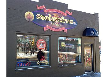 Saskatoon sign company The SignSmith