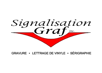 Quebec sign company Signalisation Graf Inc.