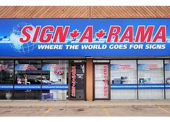 Edmonton sign company Signarama