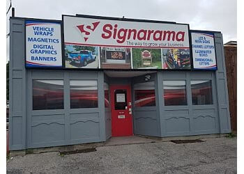 Oshawa sign company Signarama