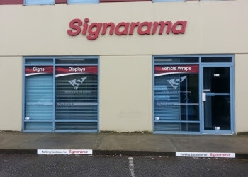 Port Coquitlam sign company Signarama