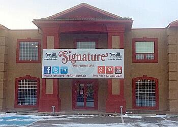 Calgary furniture store Signature Fine Furniture