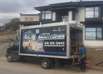 Quebec gutter cleaner Signature Gouttières