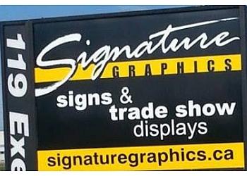 London sign company Signature Graphics