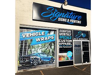 Kamloops sign company Signature Signs & Printing