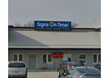 Stratford sign company Signs On Time(OnlineSignShop.ca)