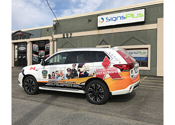 Saint John sign company Signs Plus Ltd.
