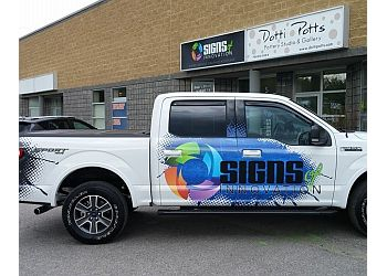 Barrie sign company Signs of Innovation