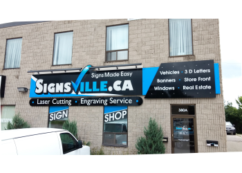 Oakville sign company Signsville.ca