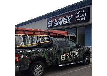 Prince George sign company Signtek Industries inc.