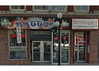 Ottawa tattoo shop Silverline Tattoo and Body Piercing