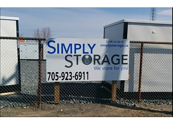 Sudbury storage unit Simply Storage Inc.