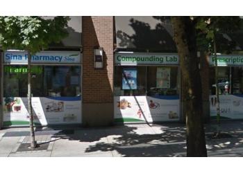 Vancouver pharmacy Sina Pharmacy & Organic Juice Bar