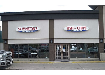 Edmonton fish and chip Sir Winston's Fish & Chips