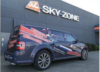 Surrey amusement park Sky Zone Trampoline Park