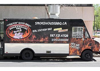 Edmonton food truck Smokehouse BBQ