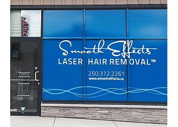 Kamloops med spa Smooth Effects laser hair removal