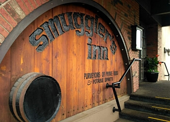 Calgary steak house Smuggler's Inn