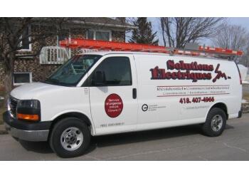 Quebec electrician Solutions Électriques, SM inc.