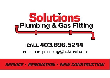 Red Deer plumber Solutions Plumbing & Gas Fitting LTD.