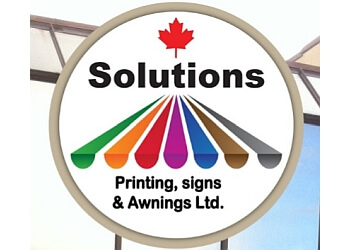 Solutions Printing, Signs & Awnings ltd.