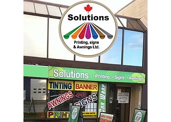 Solutions Printing, Signs & Awnings ltd Burnaby Printers