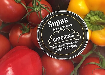 Kitchener caterer Sopas Kitchen