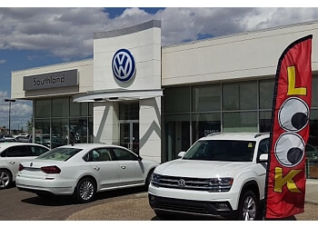 Medicine Hat car dealership Southland Volkswagen